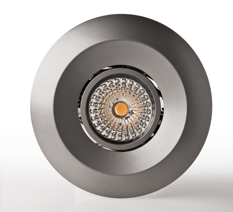 Luxstream_Crystal_LED-Downlight_11_watt_anthrazit_Frontansicht